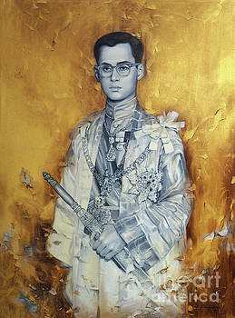 King Bhumibol by Chonkhet Phanwichien