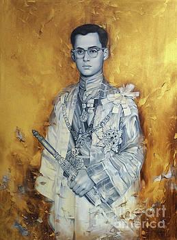 King Phumiphol by Chonkhet Phanwichien