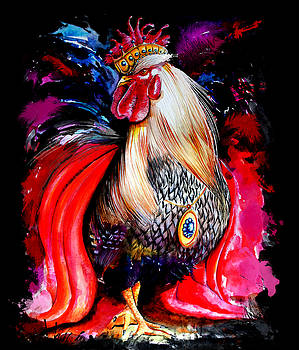 King Rooster by Isabel Salvador