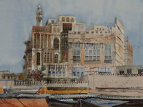 King Saud Minaret by Martin Giesen