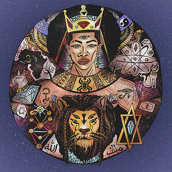 King Solomon and The Lion of Judah by Kenal Louis
