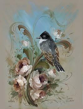 Kingbird's Garden by David Jansen