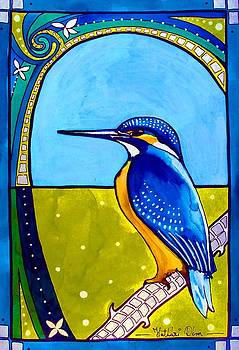 Kingfisher by Dora Hathazi Mendes