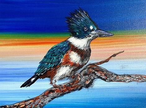 Kingfisher by Witzel Art