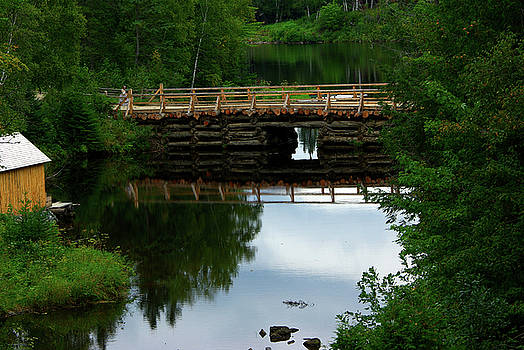 Kings Landing Rustic Bridge by Paul Wash