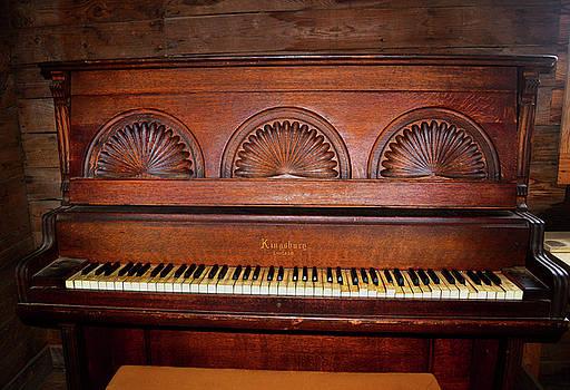 Kingsbury Piano 002 by George Bostian