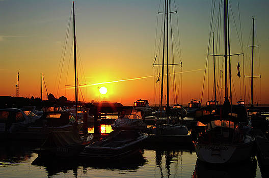 Kingston Downtown Marina Sunrise by Paul Wash