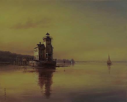 Kingston Light by Barry DeBaun