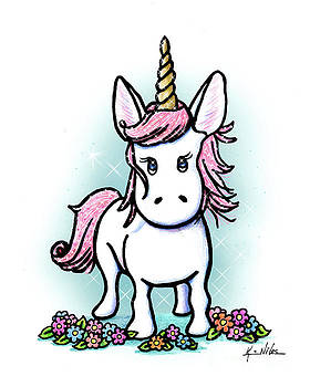 KiniArt Unicorn Sparkle by Kim Niles