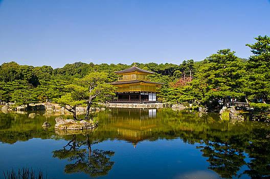 Kinkaku-ji Temple  by Kobby Dagan