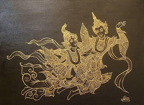 Kinnari-Kinnara by Aung Min Min