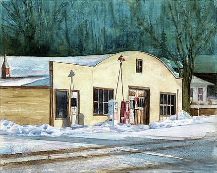 Kiowa Garage, Kiowa CO by Richard Hahn