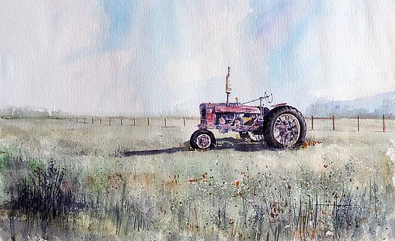 Kiowa Tractor Retired by Richard Hahn