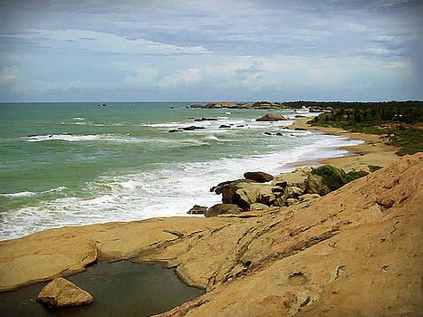 Kirinda - Seascape by Ajithaa Edirimane