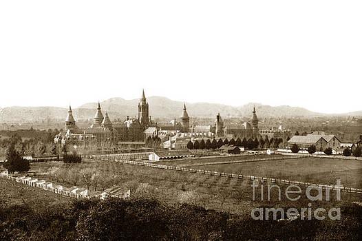 California Views Mr Pat Hathaway Archives - Kirkbride at Napa State Hospital in California circa 1890