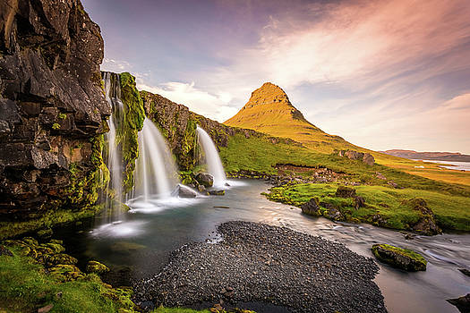 Francesco Riccardo Iacomino - Kirkjufell Mountain,Iceland, Snaefellsnes peninsula landscape wi