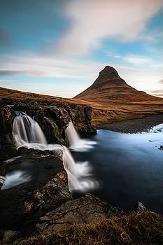 Larry Marshall - Kirkjufellsfoss Waterfalls Iceland