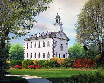 Kirtland Temple by Brent Borup