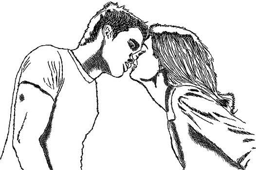 Kiss by Khajohnpan Sauychalad