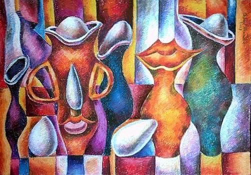 Kiss of Still Life by Chifan Catalin  Alexandru