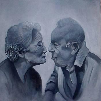 Kiss by Paul Weerasekera