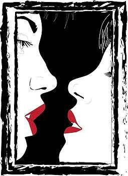 Kiss by Thomasina Durkay