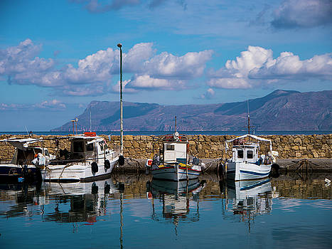 Kissamos Fishing Port by Rae Tucker