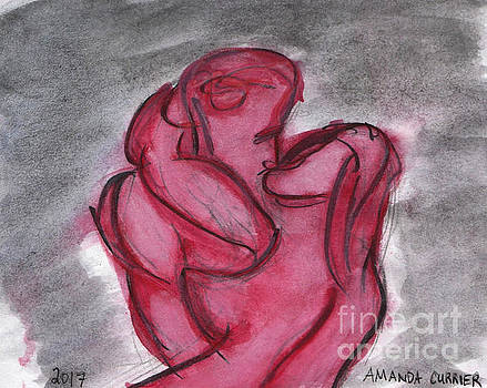 Kissing by Amanda Currier