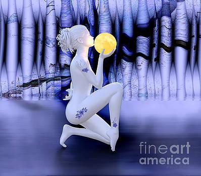 Kissing The Moon by Barbara Milton