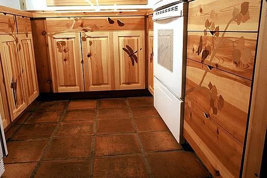 Kitchen cabinetry by Scott Reuman