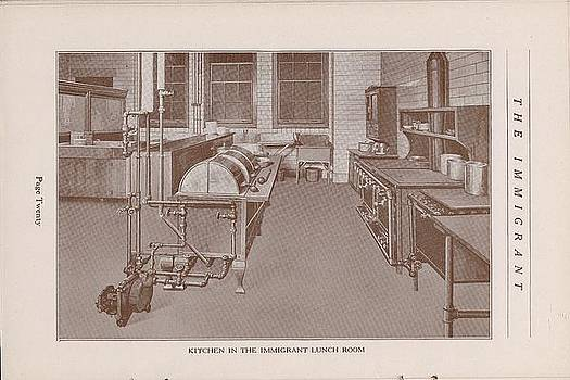 Chicago and North Western Historical Society - Kitchen In The Immigrant Lunch Room