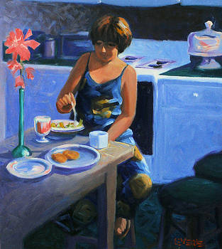 Kitchen Meal by Kevin Lawrence Leveque