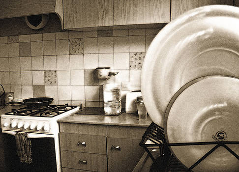 Kitchen Plates by Ingrid Dance