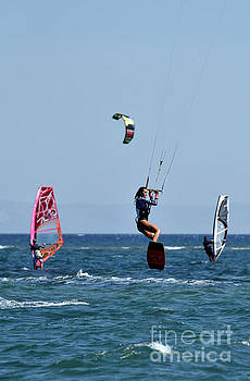 George Atsametakis - Kite surfing and windsurfing