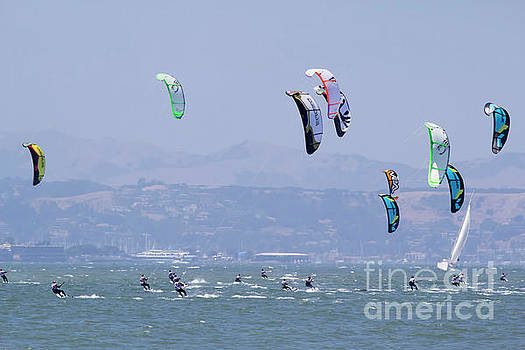 Chuck Kuhn - Kite Surfing California II