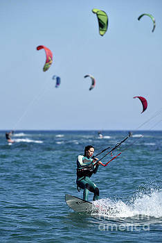 George Atsametakis - Kite surfing