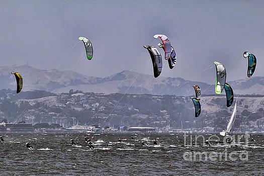 Chuck Kuhn - Kite Surfing San Francisco Bay