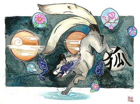 Kitsune Of Other Worldly Dimensions by  AmaSepia Gittens-Jones' Fox And Fantasy Designs