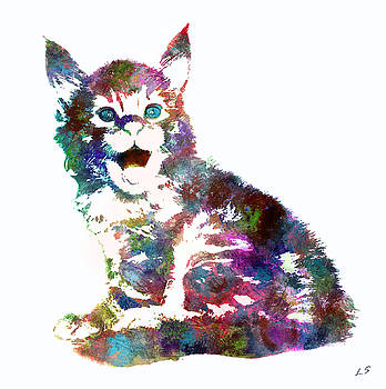 Kitten Maine Coon by Sergey Lukashin