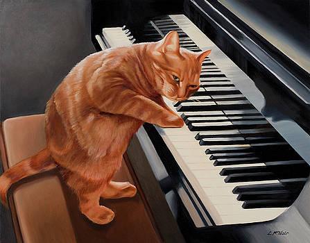 Kitten on the Keys by Loretta McNair