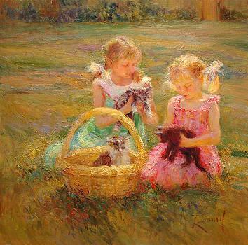 Kittens by Diane Leonard