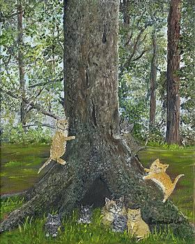 Kitties by Linda Clark