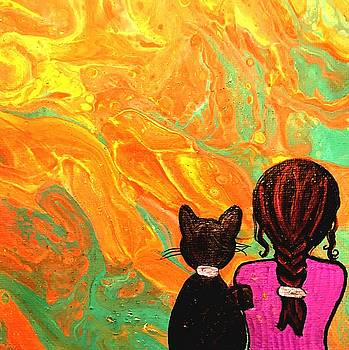 Kitty And Me by Sarah Kuhlmann