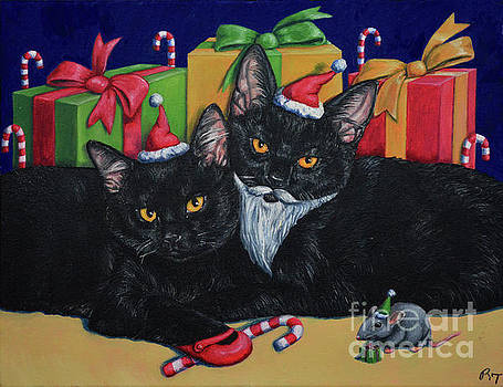 Kitty Cat Christmas by Rebecca Tiano
