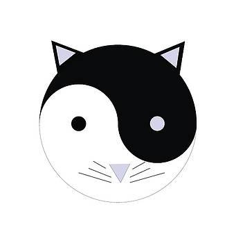 Kitty YinYan by Swigalicious Art
