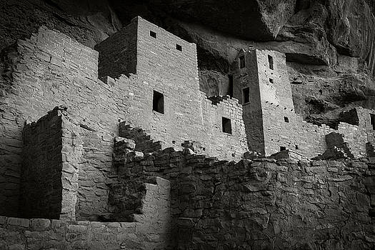 Kivas, Cliff Palace by Bud Simpson