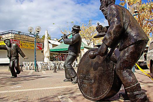 Kleizmer Band in Bronze by Zalman Latzkovich