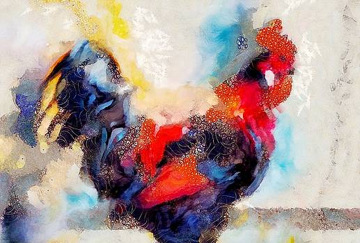 Klimt Cluck by Lelia DeMello