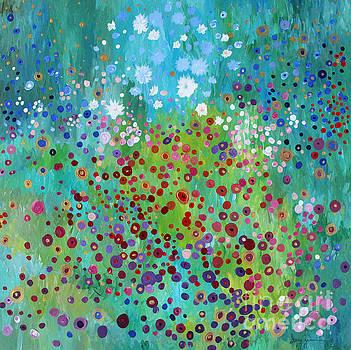 Klimt's Garden by Stacey Zimmerman