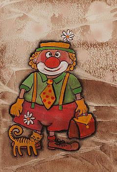 Kliopa the clown with pussy by Khromykh Natalia